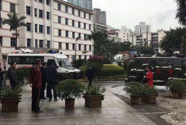今日(4日)上午10時50分大右,四川攀枝花市會展中心發生一宗槍擊案,消息震驚各界。(網絡圖片)