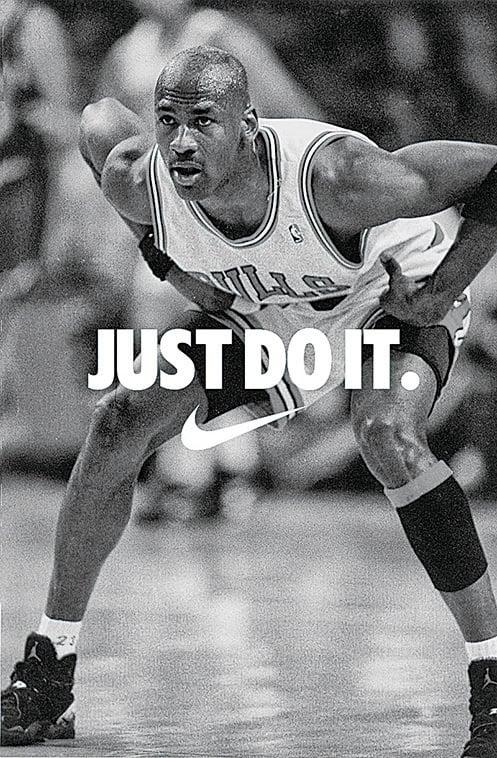 籃球明星Michael Jordan退役前感歎,Philip Knight和Nike把他變成了一個夢幻人物。(網絡圖片)