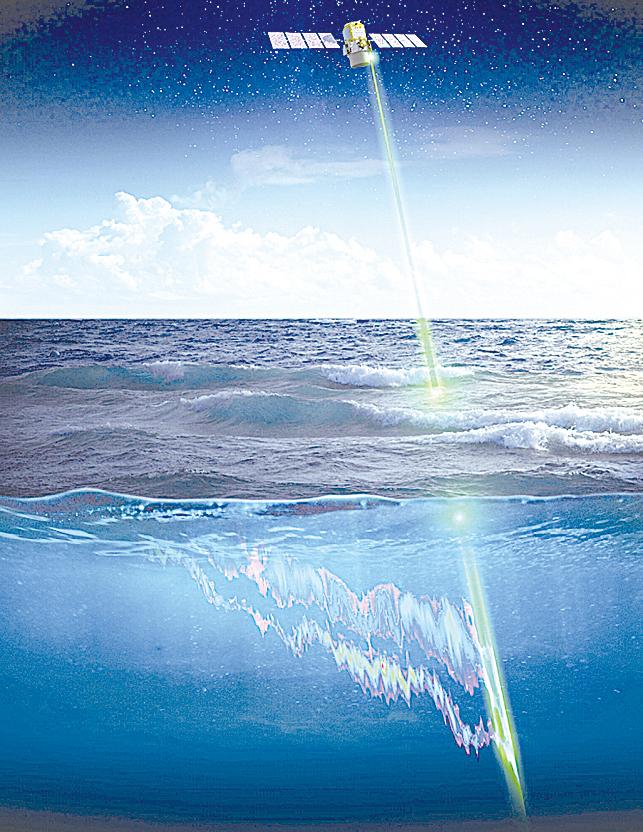 NASA從太空觀測海洋生物