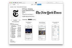蘋果將紐約時報從中國App Store刪除