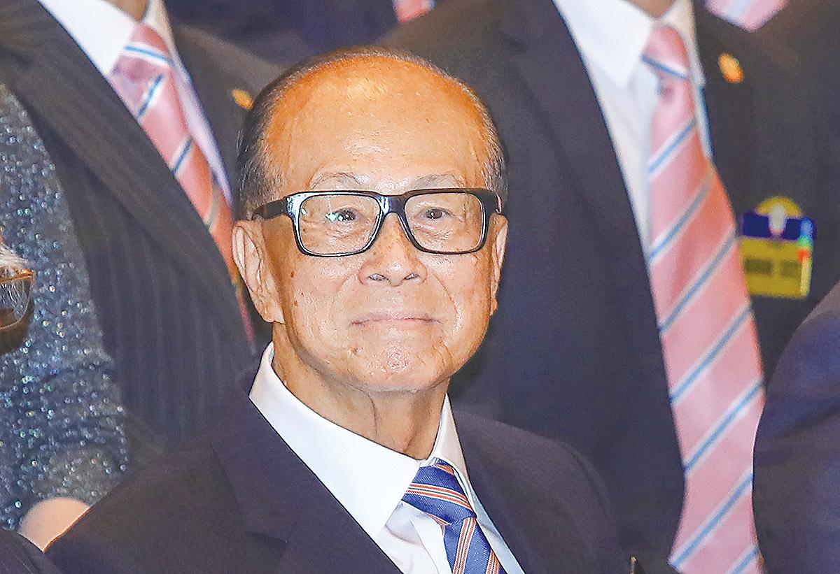 長和主席李嘉誠昨日表示,政府加辣後樓價會升,但不會高太多。(大紀元資料圖片)