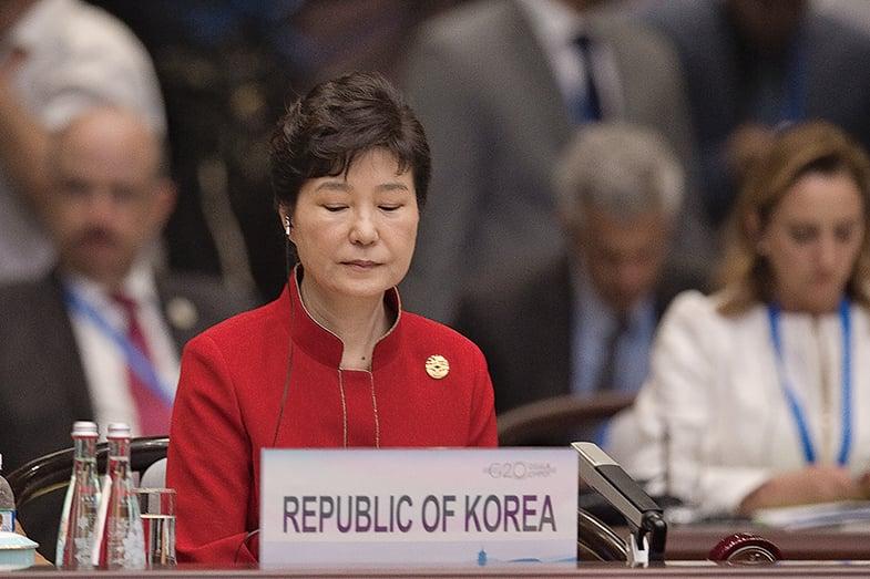 韓憲法法院再度開庭辯論 朴槿惠仍缺席