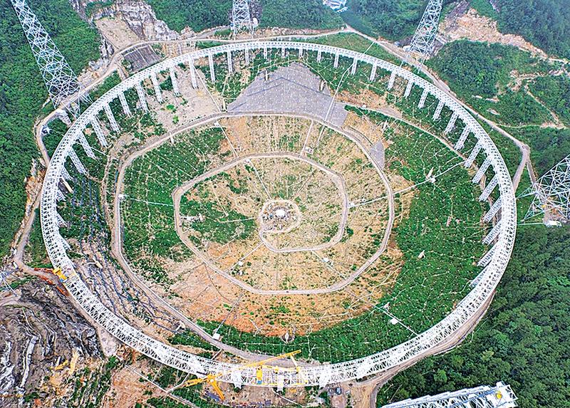 貴州平塘建巨大望遠鏡 尋找外星人