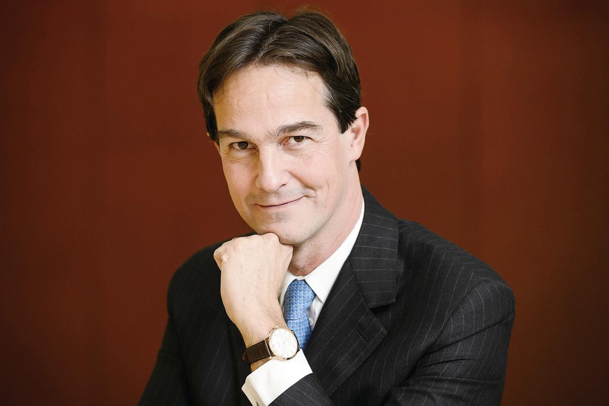 愛馬仕手錶新任CEO Laurent Dordet。