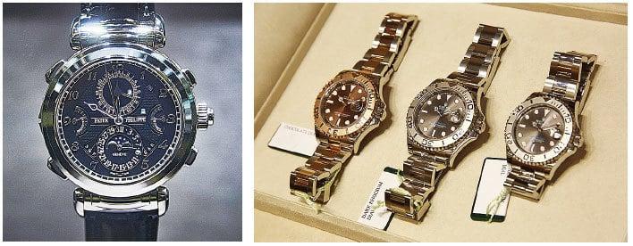 如果想成為金光閃閃,眾所矚目的焦點,除了手錶和戒指的金屬色一致之外,身上其它配件的顏色也要一致。