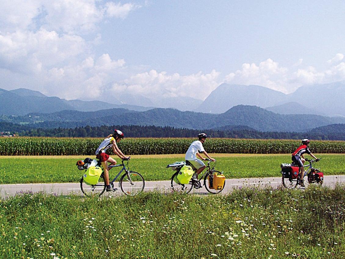 斯洛文尼亞騎自行車之旅。(Marek Ślusarczyk/維基百科)