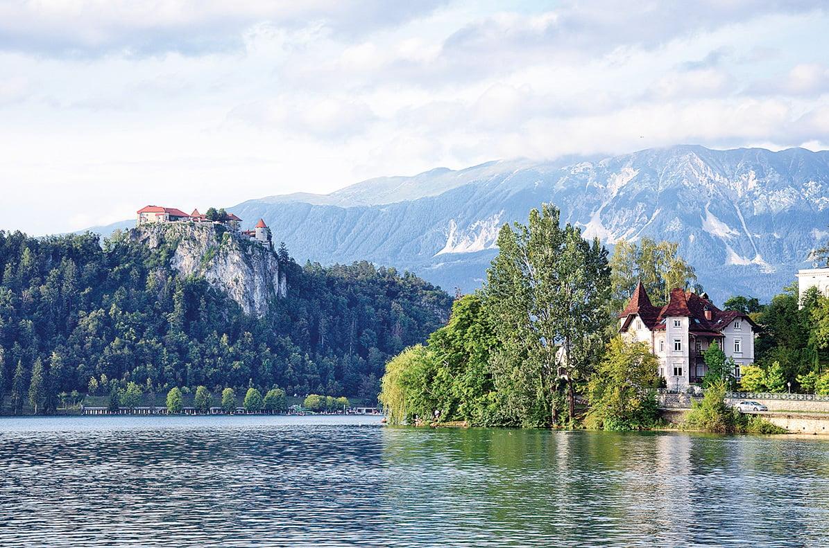 布萊德城堡為斯洛文尼亞最古老的城堡。(Fotolia)