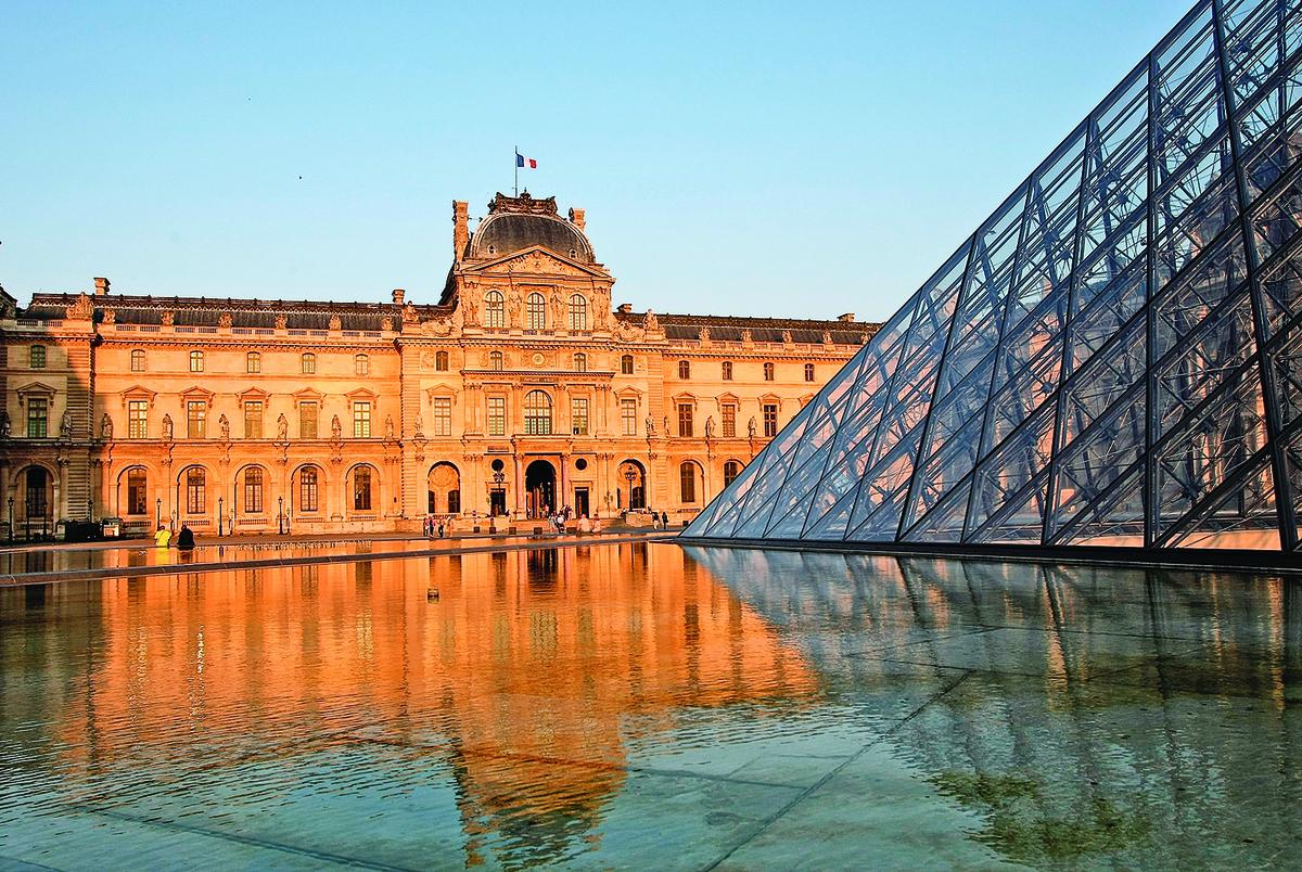 巴黎羅浮宮外景。(Getty Images)