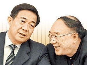 黃奇帆(右)曾公開承認與薄熙來(左)配合得「如魚得水」。(網絡圖片)
