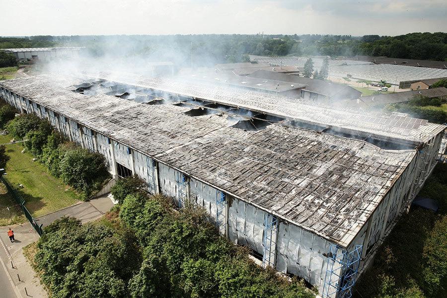 德國又一難民營遭縱火 57人受傷