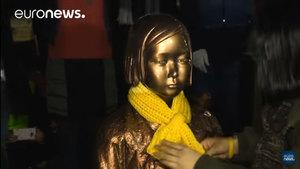 抗議設慰安婦像 日召回大使 韓表遺憾