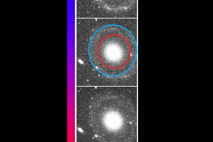 科學家發現新型雙環星系 挑戰當前天文理論