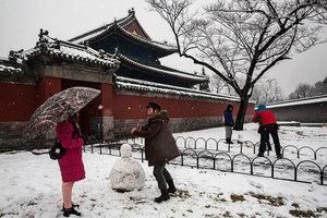 堆雪人在中國成為重大健康危害