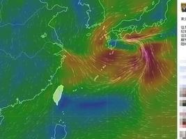 東北季候風夾陸霾 強烈大陸冷氣團周六襲台