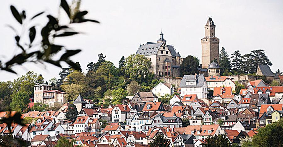 德國陶努斯貴族精英的風水寶地