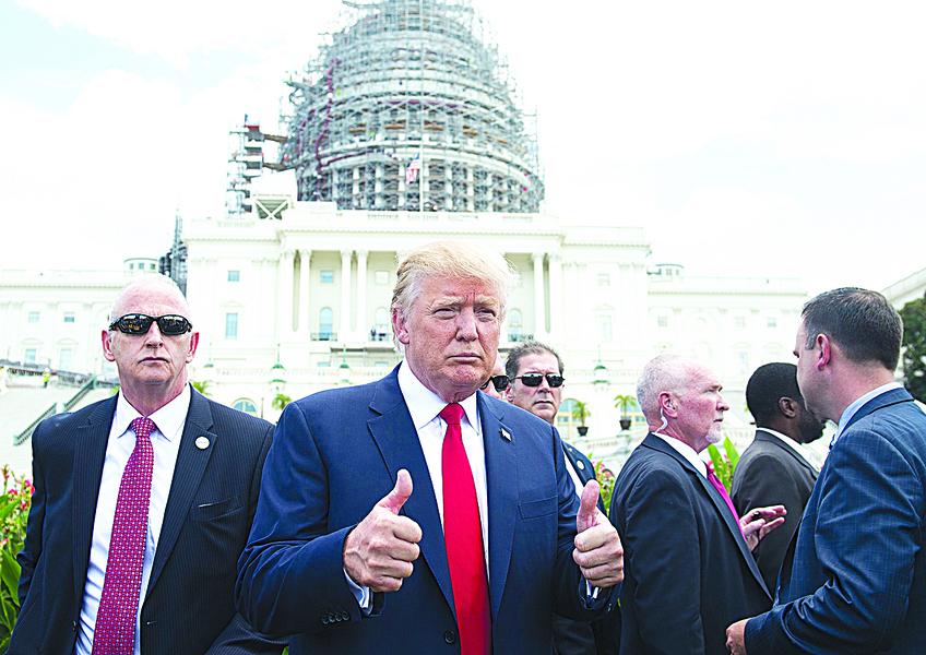 特朗普上任百日或為成敗關鍵