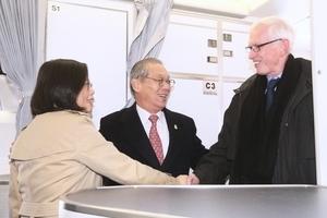 蔡英文過境侯斯頓 台總統府:未見特朗普團隊