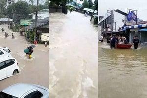 泰南暴雨洪水氾濫兩橋塌 至少廿五人喪生