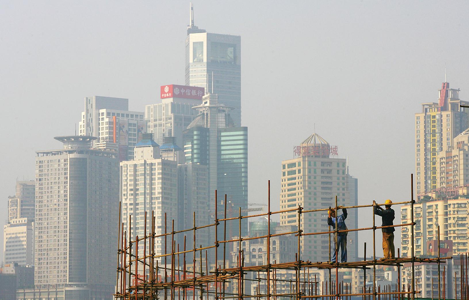 上海和重慶最近緊急出現樓市調控,尤其是重慶樓市出現較大幅度變動。(Getty Images)