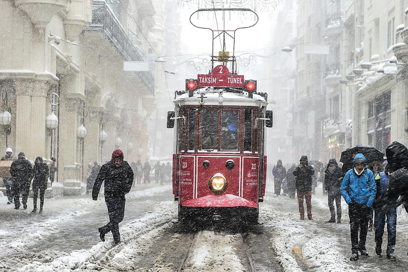 土耳其伊斯坦堡。(AFP/Getty Images)