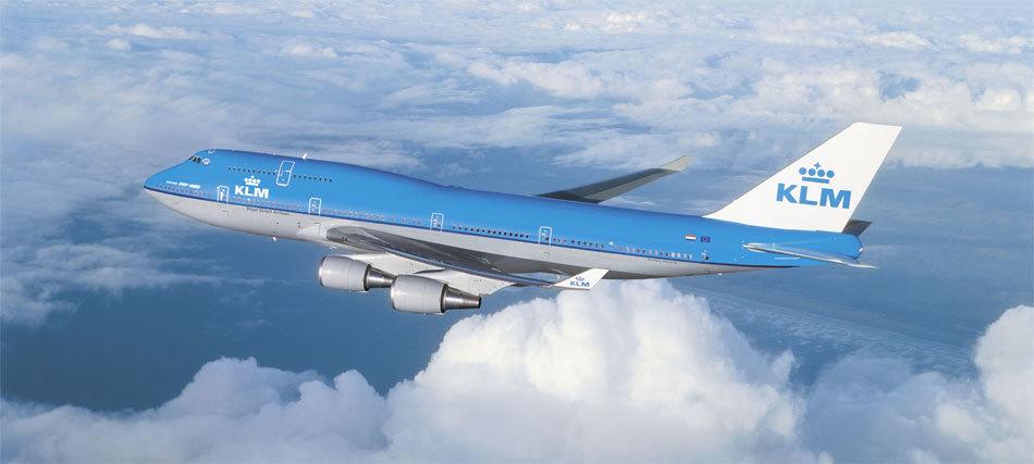 名列最準時航空第一位的是荷蘭皇家航空(KLM),準點率接近90%。(網絡圖片)