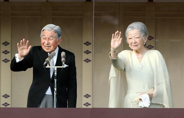 日本天皇的讓位時間預定在平成31年(2019年)1月1日,屆時將舉行皇太子的即位儀式,同時發佈新年號。(Getty Images)