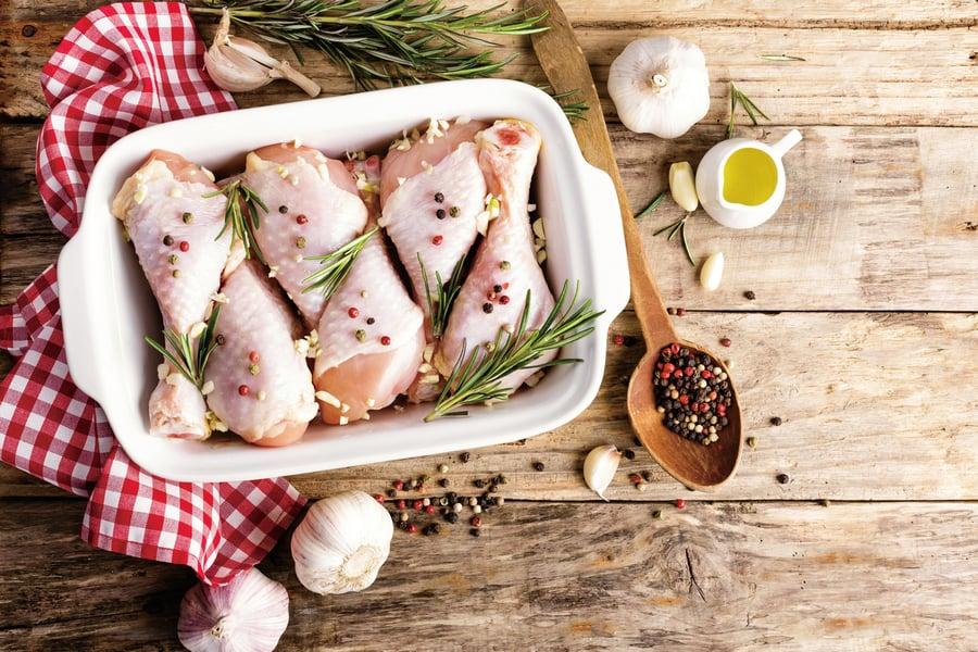 雞肉未熟透食用有危險耐藥彎曲菌可致癱