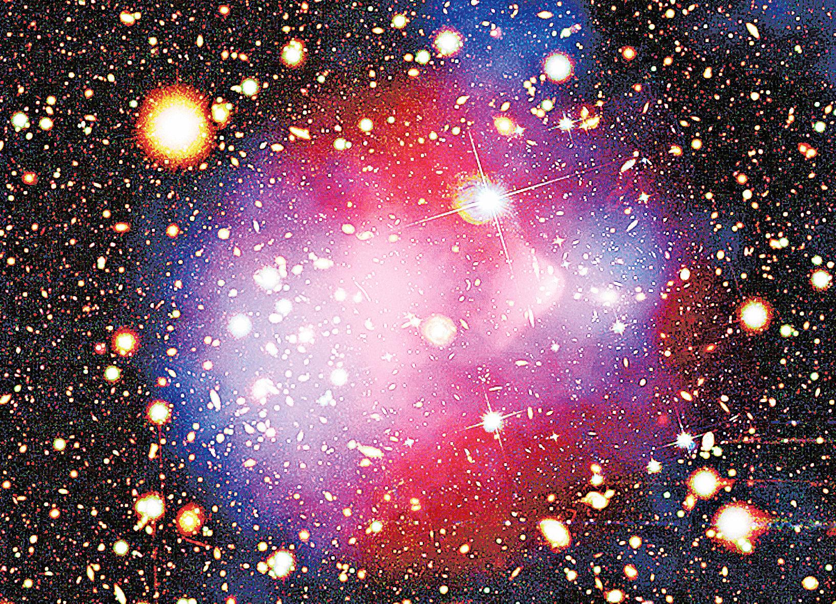 組成宇宙的物質主要為無法被直接觀察的暗物質。(NASA)