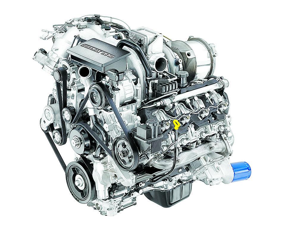 汽車的發動機就好像人體的心臟。(GM圖片)