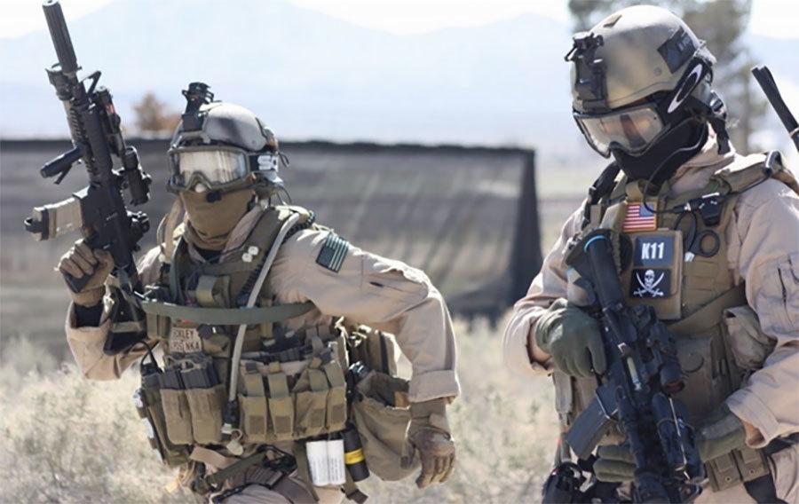 圖為美國陸軍特種部隊「三角洲部隊」在今年1月8日突襲伊斯蘭國(IS)恐怖組織控制區,擊斃一名IS頭目。(網絡圖片)