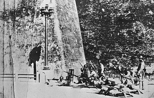 1931年9月18日,駐中國東北的日本關東軍炮擊中國東北軍的北大營並向瀋陽進攻,製造了震驚中外的「九一八」事變。(網絡圖片)