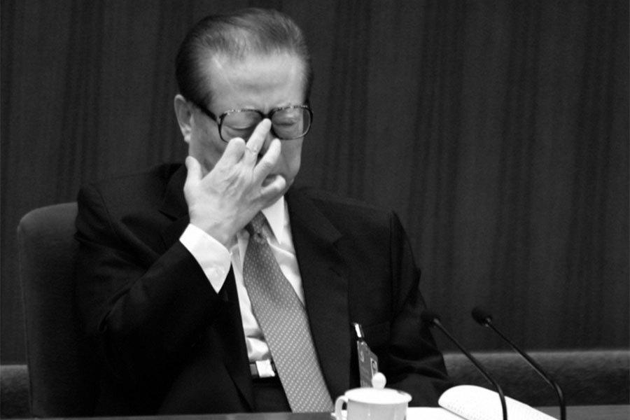 陳思敏:陸媒曬「結婚日期」再證江澤民造假