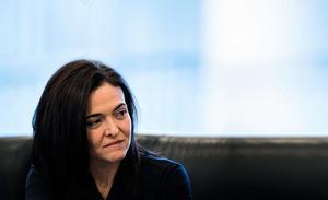 雪莉‧桑德伯格 Facebook首席執行長  矽谷最有權勢的女人