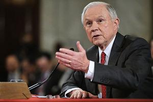 任命聽證會準司法部長:反對大赦非法移民