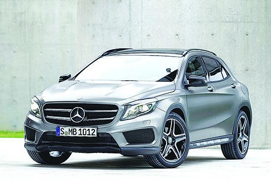 目前正在銷售的M-Benz GLA-Class。(M-Benz)