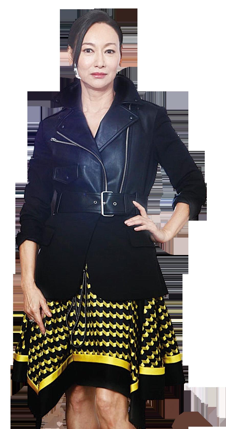 惠英紅憑藉電影《幸運是我》爭影后。(網絡圖片)