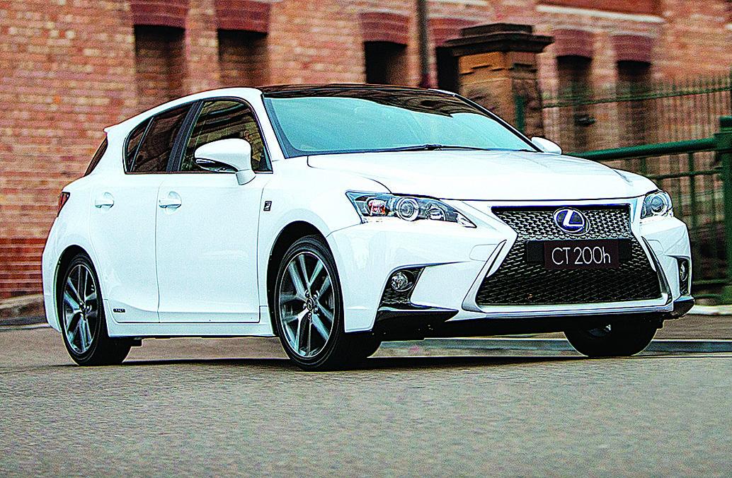 現在銷售的新一代CT 200h。(Lexus)