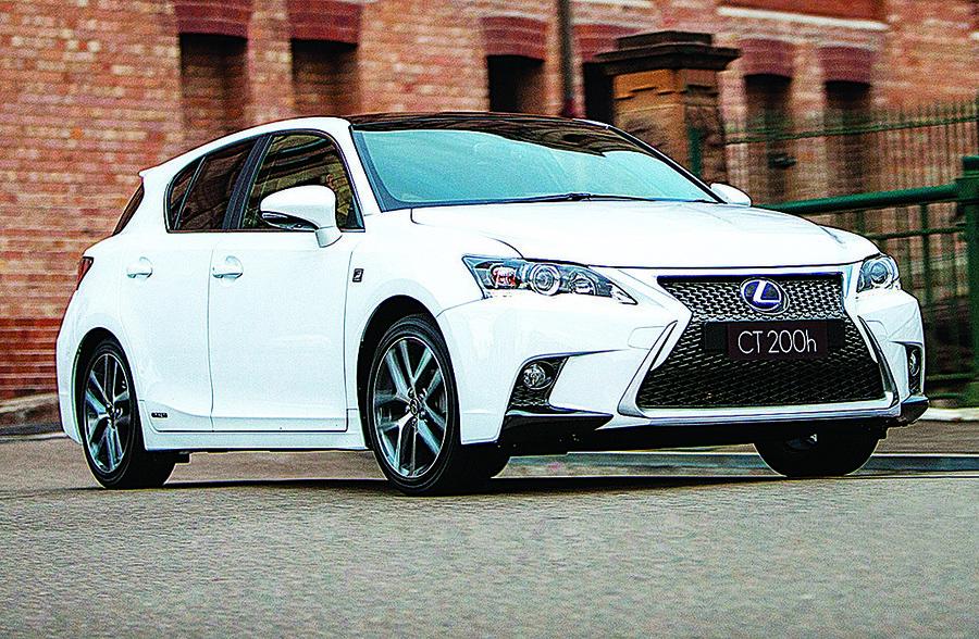 Lexus CT 200h後繼車預計今年登場