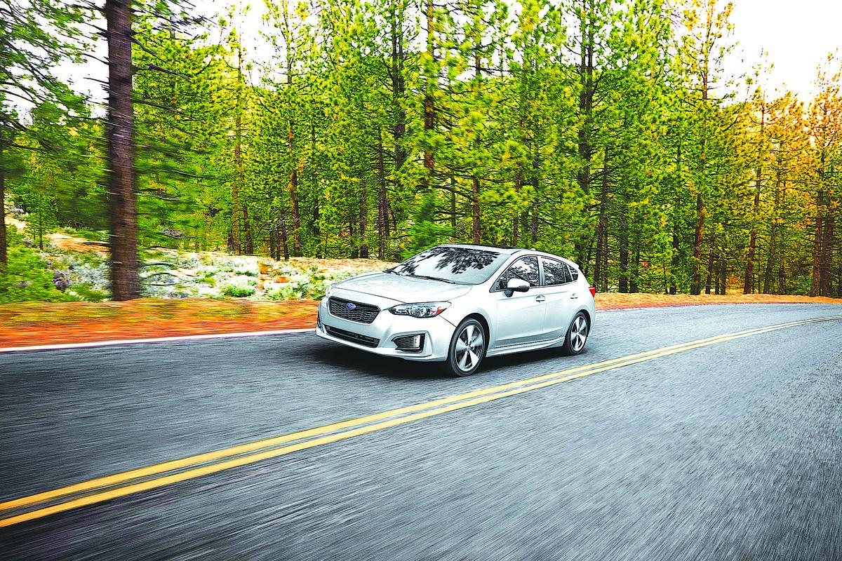 2017年將登陸美國的全新掀背版Impreza。(Subaru)