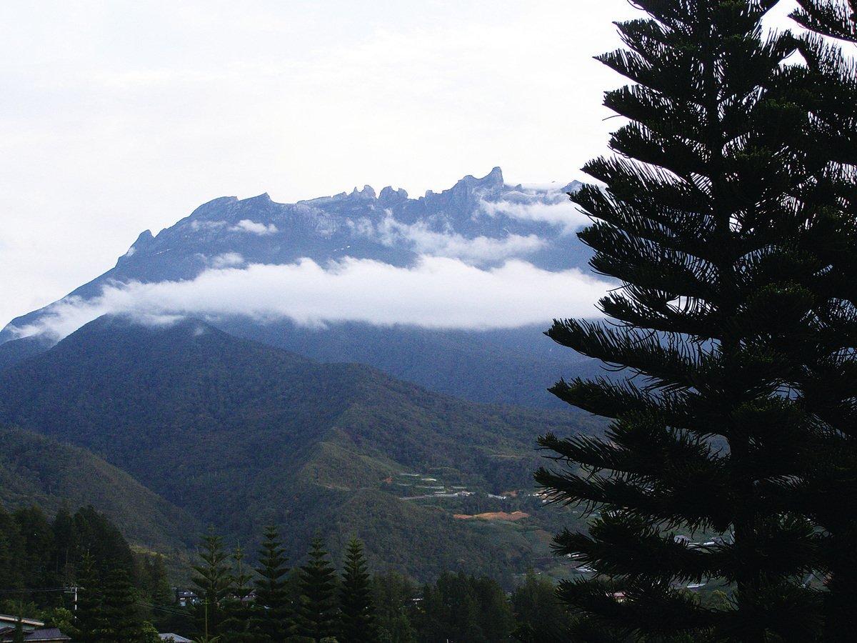 神山國家公園京那巴魯山。(Jay Lim/維基百科)