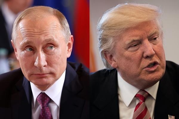 克里姆林宮在周四(1月12日)向特朗普發出友好信息,希望他上任後能夠與普京友好相處,和平對話。(Getty Images/大紀元合成圖)