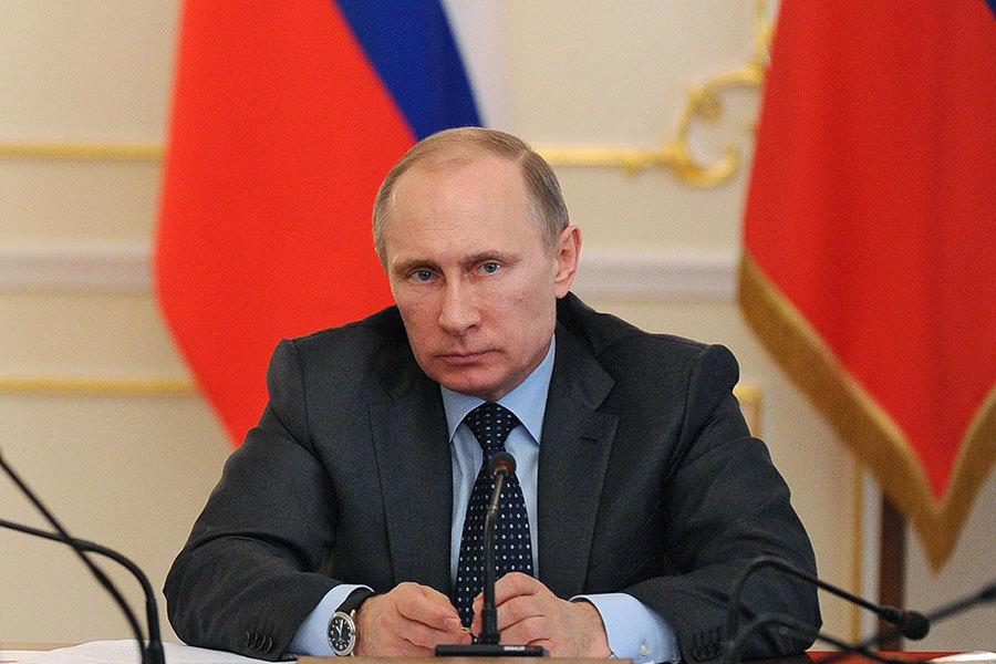 俄羅斯總統普京。(MIKHAIL KLIMENTYEV/AFP/Getty Images)