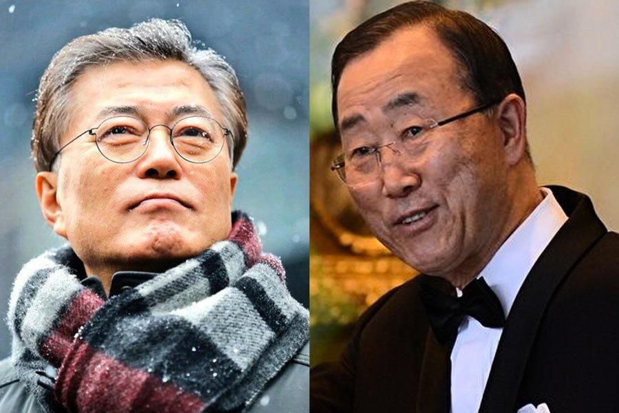 南韓總統大選民調 潘基文居次