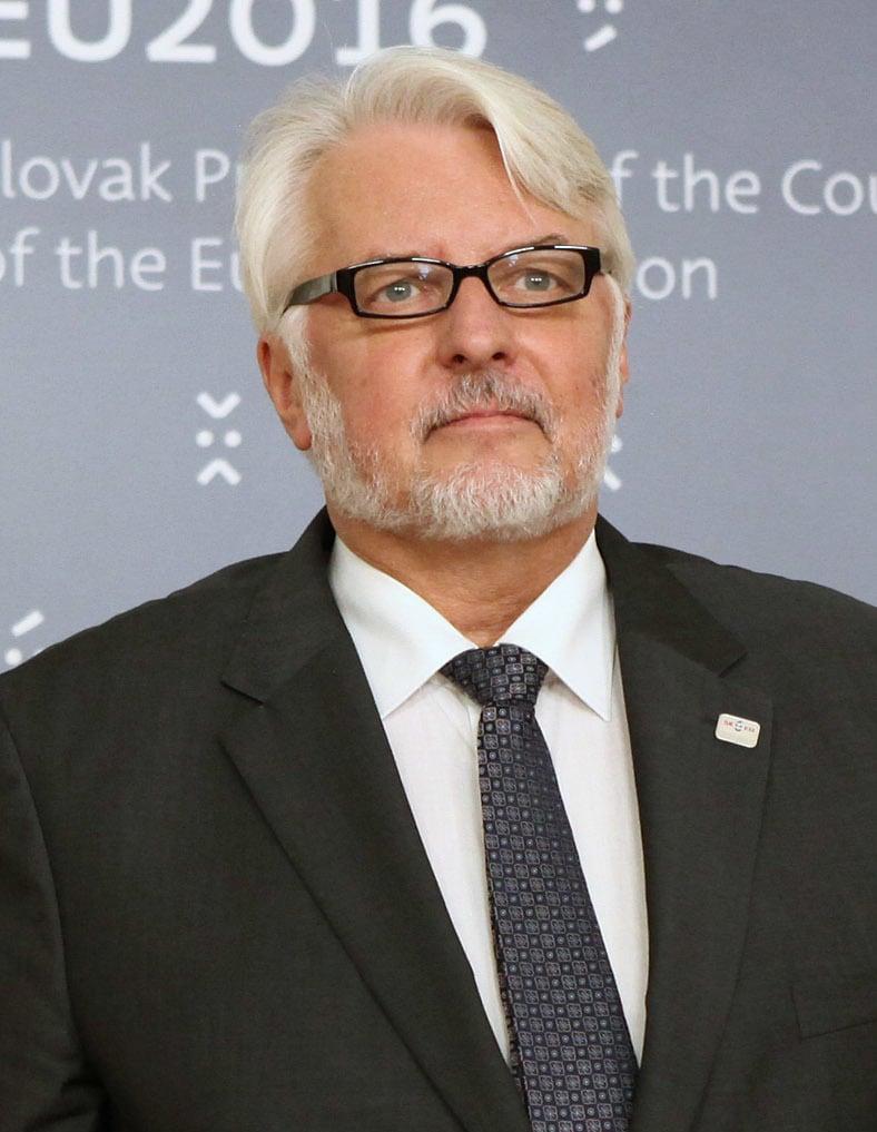 波蘭外長瓦斯其克夫斯基(Witold Waszczykowski)說:「任何人想要與俄羅斯改善關係,你不能加以批評。我們是俄羅斯的鄰邦,這也是我們想要的。我們要傳達給美國的訊息是:我們樂見此事,但不能犧牲我們。」(Wikicommons)