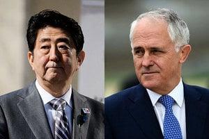 安倍訪澳 日澳同意強化國防關係