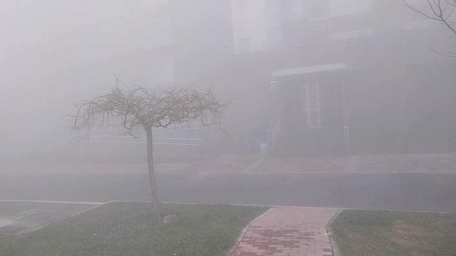 2017新年北京被陰霾籠罩。(網路圖片)