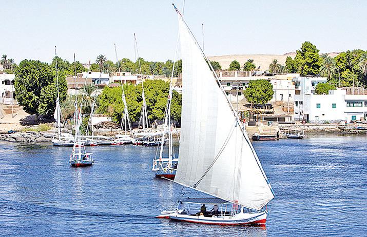 埃及帆船。(AFP/Getty Images)