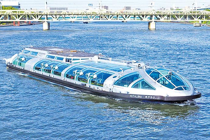 水上巴士。(Tak1701d/Wikipedia)