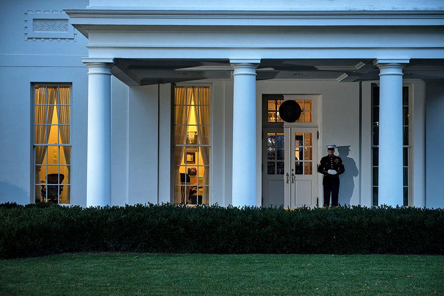 白宮西翼(West Wing) 。(Brendan SMIALOWSKI/AFP)
