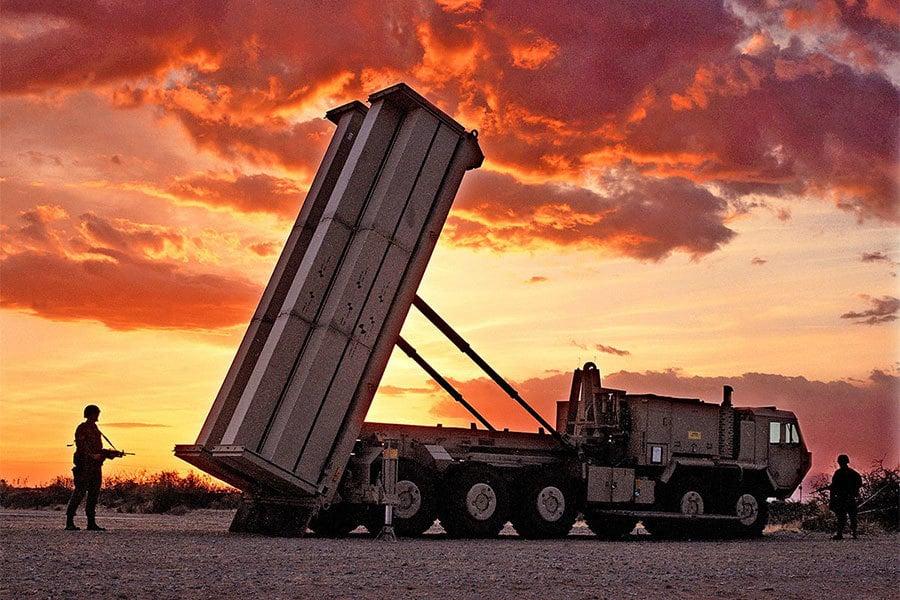 美軍3月初開始在南韓部署薩德(THAAD)導彈防禦系統,以反制北韓的挑釁行為。(Lockheed Martin)
